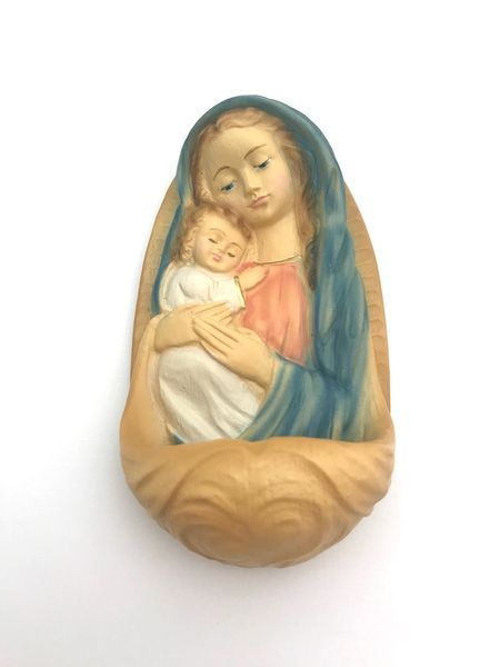 Weihwassergefäss Maria mit Kind