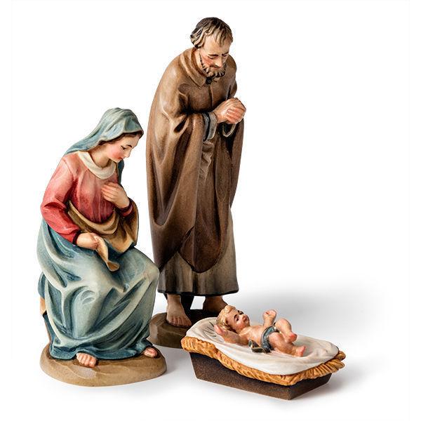 Heilige Familie mit Kind (weitere Figuren einzeln erhältlich)