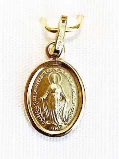 Medaillon Maria klein
