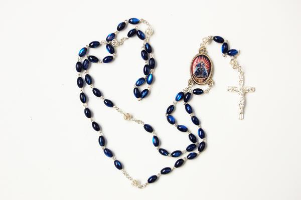 Rosenkranz mit Mariastein-Madonna