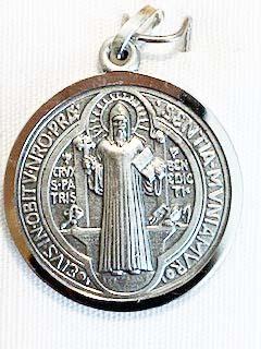Medaillon Benediktuskreuz